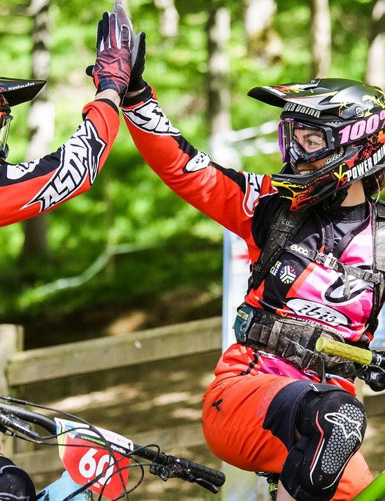 Enduro events have a very welcome and fun atmosphere