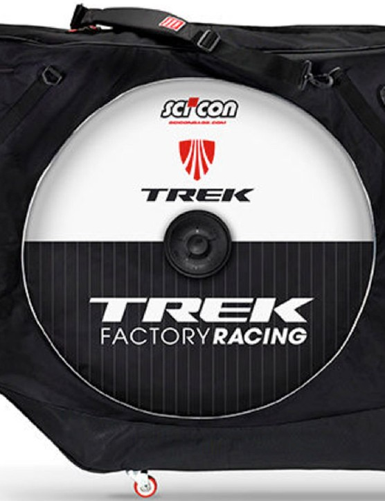 Customers who opt for the Factory Pickup option will have their bikes built by one of Trek's Race Shop mechanics, and then packaged up in a custom Scicon bag so you can either take it on the plane with you or ship it to your home