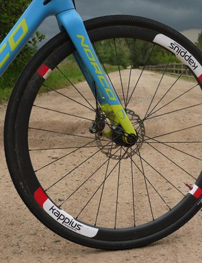 Kappius Components wheels were awesome at DK200