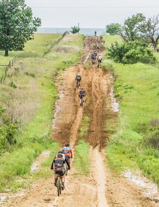 The mud often proved more than the Norco fork could handle