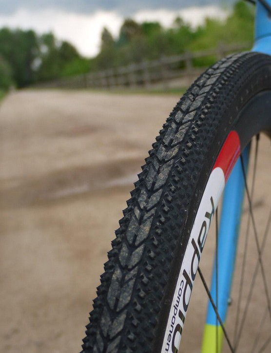 Clement X'Plor USH tyres were flawless on the sharp flint gravel