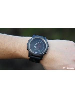 The Garmin Fenix 3 is a do-it-all adventure sports watch