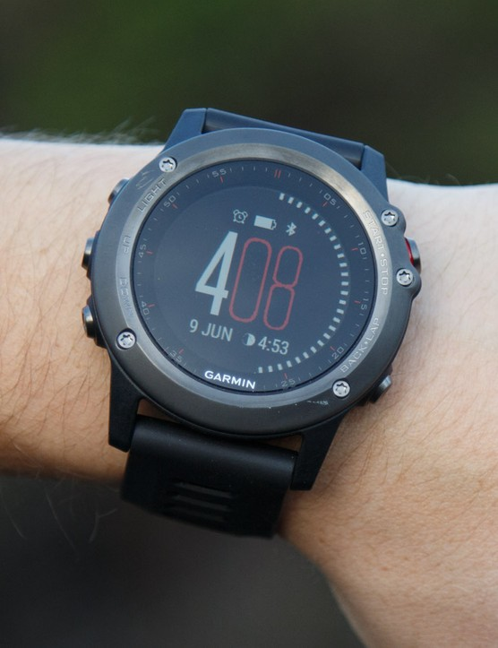 The Garmin Fenix 3 is a do-it-all adventure sports watch