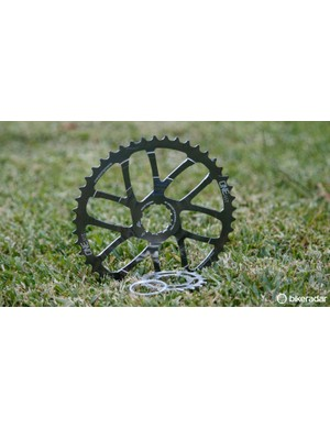 The OneUp Components 45T expander cog for Shimano 11-speed