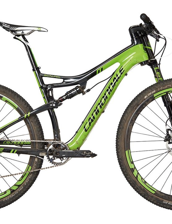 Cannondale's Scalpel Carbon Team oozes race pedigree