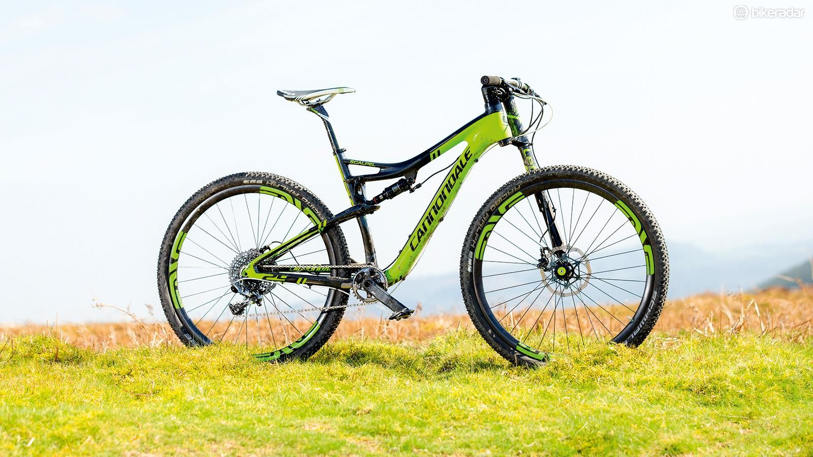 The Scalpel was one of the first fibre full sus bikes to hit the World Cup circuit, with unique Lefty fork and Cannondale kit