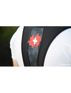 Details on the bib straps