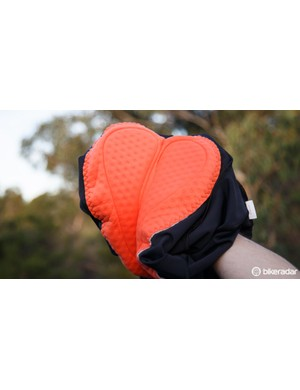 Cuore's Embody MB2 male chamois is well padded and breathable