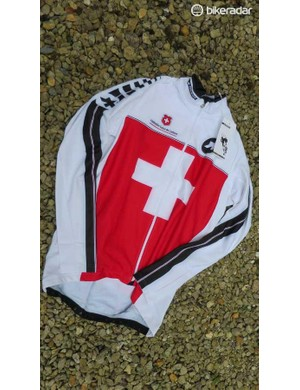 The Equipe jersey is available in plenty of 'federation' options – we like the Swiss version