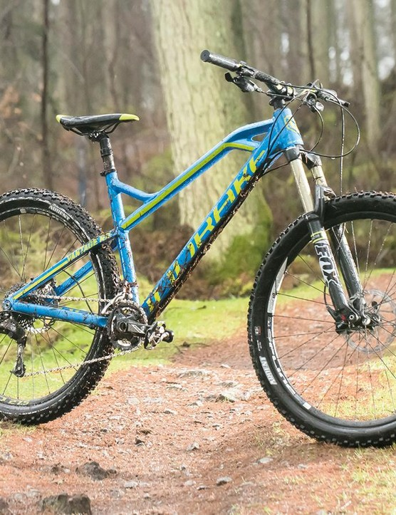 Mondraker's Vantage RR hardtail –the first of its kind with Forward Geometry