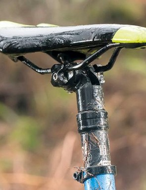 We weren't impressed with the unreliable X-Fusion dropper post