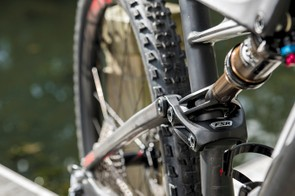 A redesigned shock linkage boosts rear end stiffness
