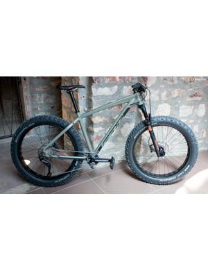 The DD 10 is Felt's newest fat bike
