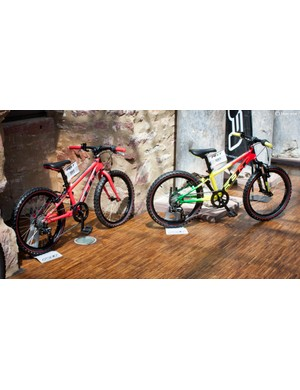 The Q20 bikes have been designed with stability in mind, while offering kids a true MTB