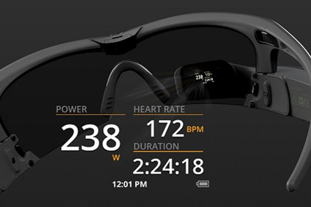The Jet smart eyewear from Recon Instruments has added ANT+ power meter compatibility