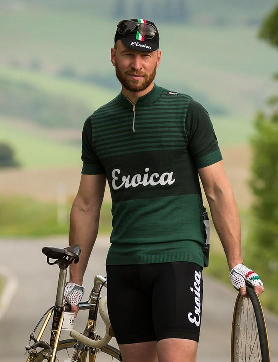 The new Eroica Britannia jersey