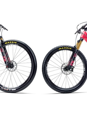 Yeti Cycles now has women's versions of the SB5c trail bike and ASRc cross-country bike