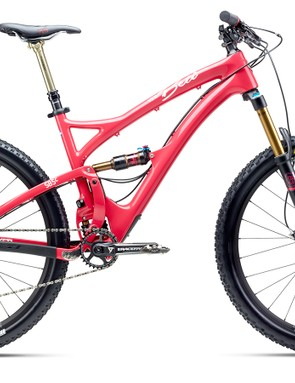 The Beti SB5c sports 140mm of front travel and 127mm in the back. It retails for US$6,899