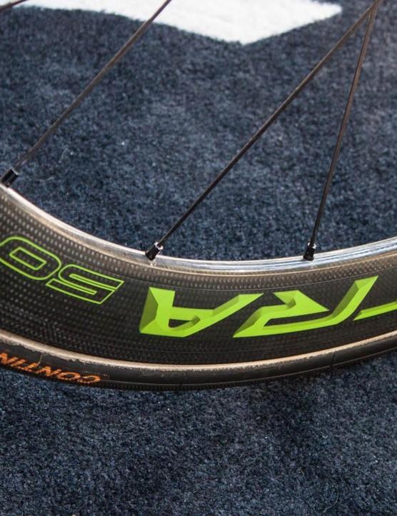 Campagnolo Bora Ultra 50 wheels