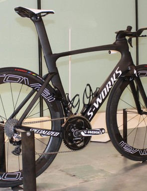 Specialized designed the ViAS with its wind tunnel, which opened in 2013