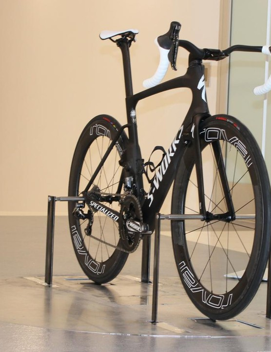 Specialized's wind tunnel lets engineers test bikes and athletes, with power-resistance controlled while pedalling