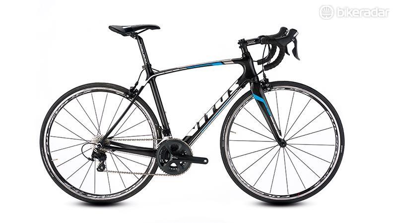 Vitus's Venon road bike frame has a very tidy look