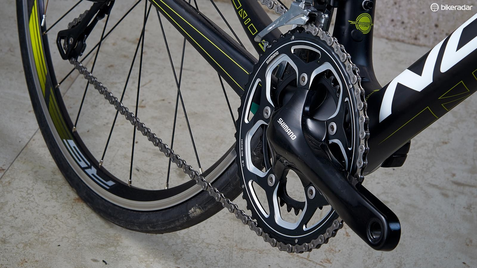 Costs are cut with the RS500 chainset