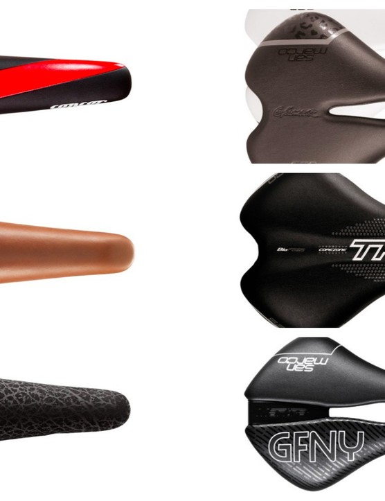 The Selle San Marco ranges include options for road cycling, time trialling, triathlon, women and urban riders