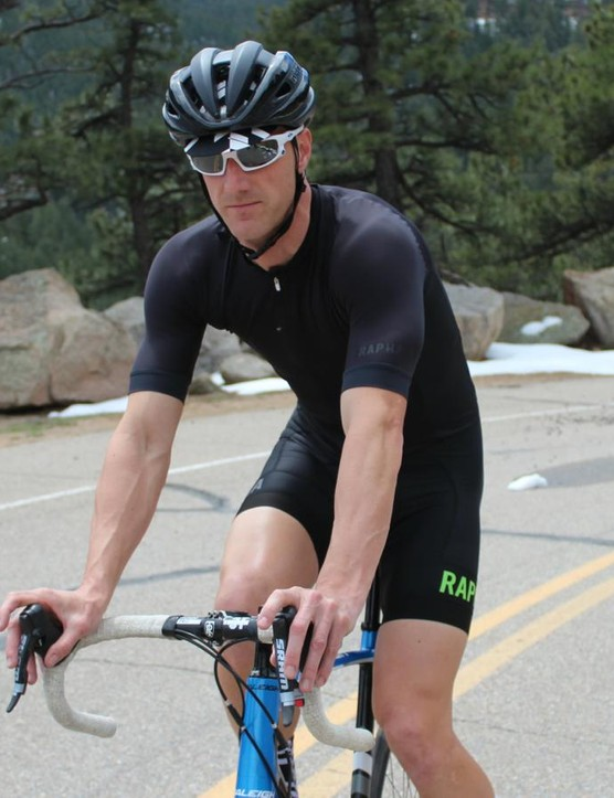 A tight jersey goes a long way towards reducing your drag