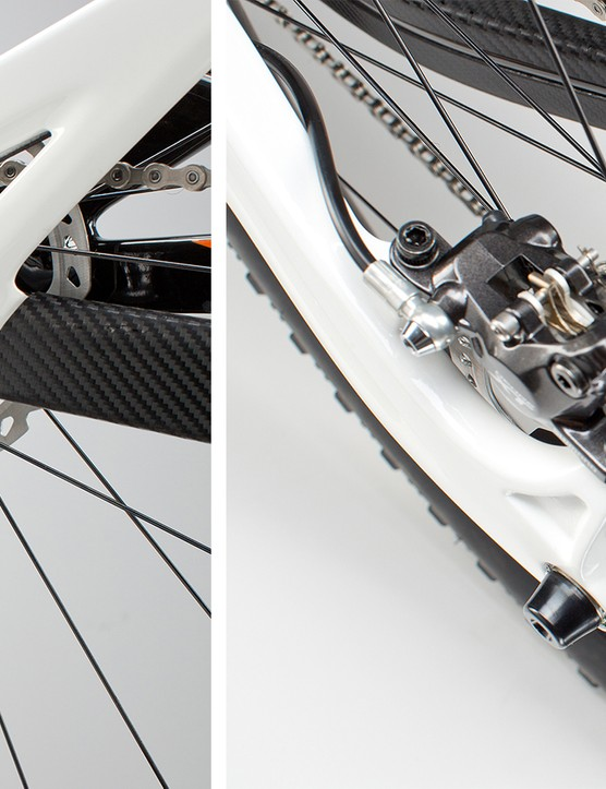 The 429 Trail is Pivot's first model to incorporate a Boost 148 (148x12mm) rear end