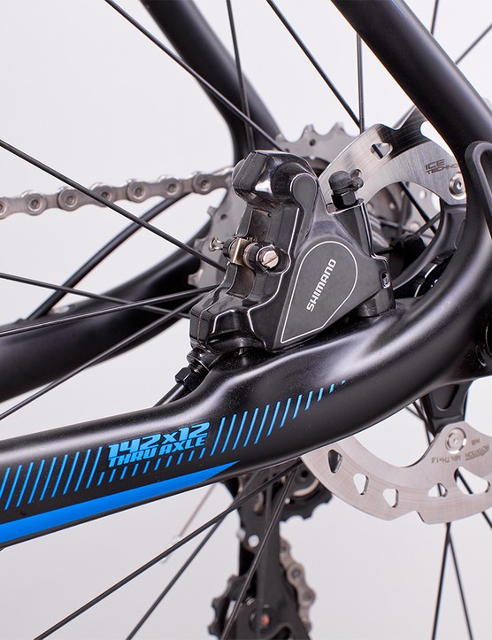 The Vault uses Shimano's direct mount road brake standard