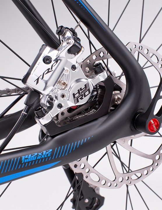 This direct mount standard is also compatible with non-Shimano brakes