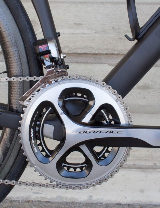 Shimano's Dura Ace Di2 was as flawless as ever