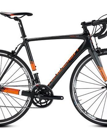 Raleigh's Criterium Elite road bike is built around a handsome carbon frame