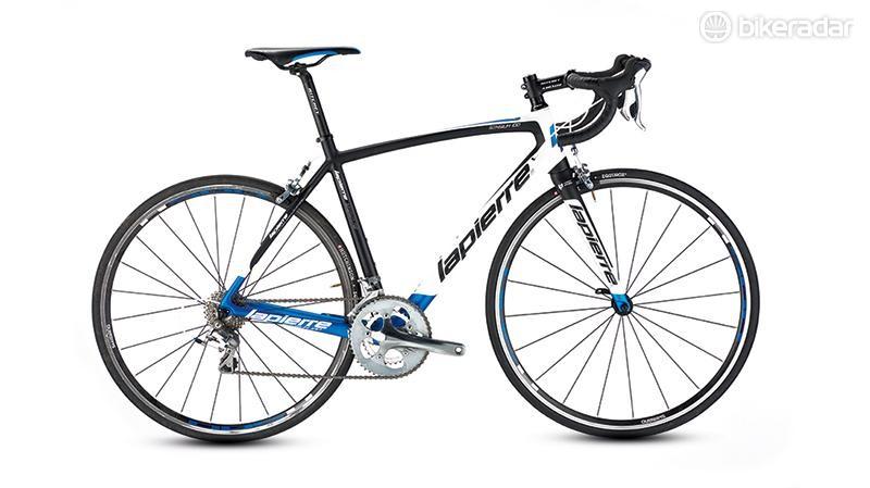 Lapierre's Sensium 100 CP road bike is a stylish ride