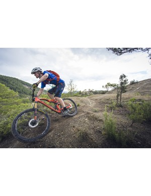 The Occam AM is a lightweight and nimble trail bike