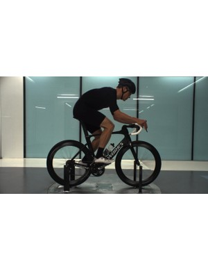 CdA for me with hairy legs on a Venge ViAS in an S-Works skinsuit and Evade aero helmet: 0.271m2