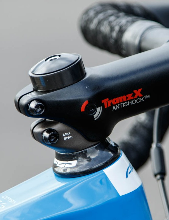 Both Corsa ER models come equipped with an 'Antishock' stem from TransX