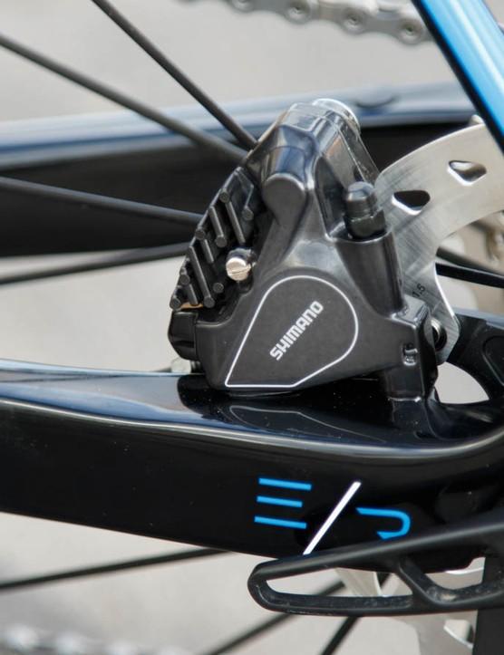 Still very new – Avanti uses Flat Mount disc brakes on the Corsa ERs
