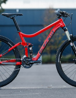 The 2016 Avanti Competitor S 2 - a RockShox suspension package and upgrade components add AU$500 over the base model