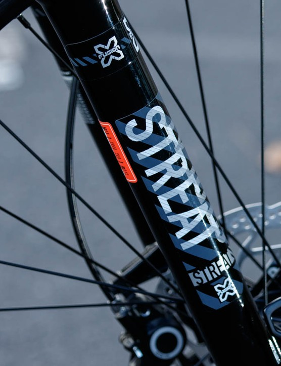 The X-Fusion Streat fork has an impressive spec list for the money