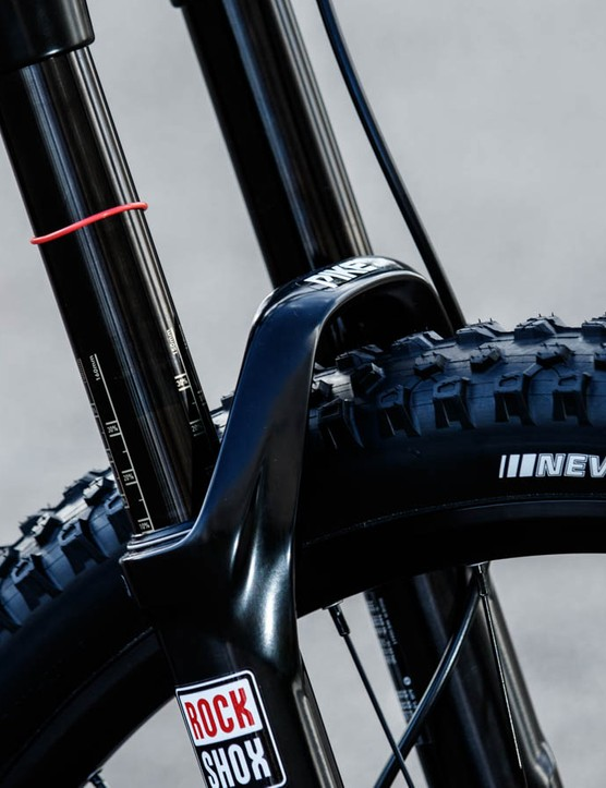 The RockShox Pike RC fork is a welcome change