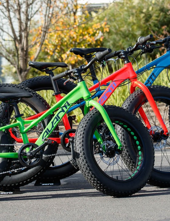 The Tracker fat bike, now available in 20, 24 and 26in