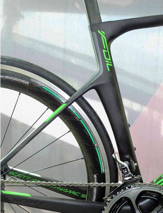 Scott claims a massive increase in comfort, largely due to the dropped seatstays, which improve aerodynamics too