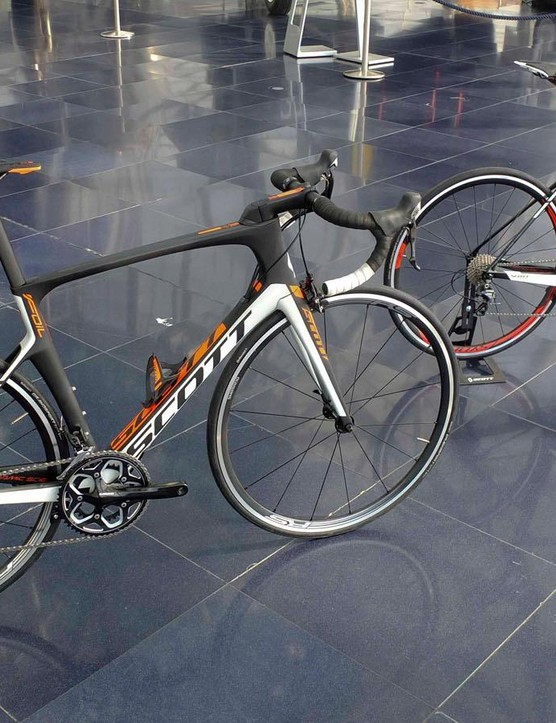 The two starting points for the range are the Foil 20 with Ultegra, and the Foil 30 with 105