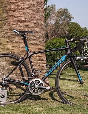 The Giant TCR Advanced SL 0 — lighter and torsionally stiffer for 2016