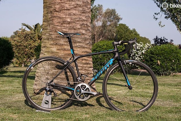 The Giant TCR Advanced SL 0 —lighter and torsionally stiffer for 2016