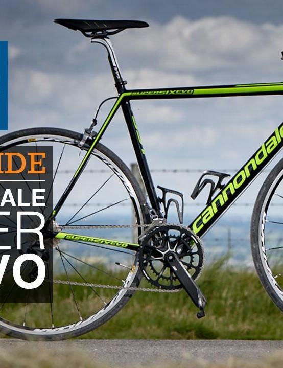 Cannondale's new SuperSix EVO Hi-Mod Ultegra road bike