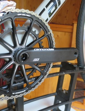 The Si crank on the DA model gets the upgraded 10-arm spider-ring over the Ultegra versions 8-arm
