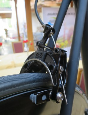 The addition of superlight CNC-machined EE brakes show that the Black Inc. is a little above the norm